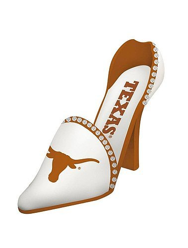 Texas Longhorns Decorative Wine Bottle Holder - Shoe - NCAA Licensed from Sports Collectibles