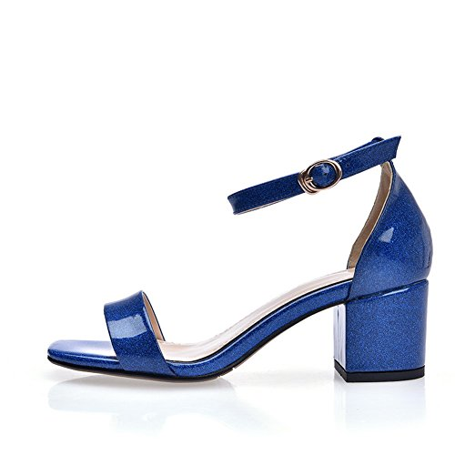1TO9 Womens Cold Lining Non-Marking Fashion Urethane Sandals MJS03196 Blue 5fYn5Z