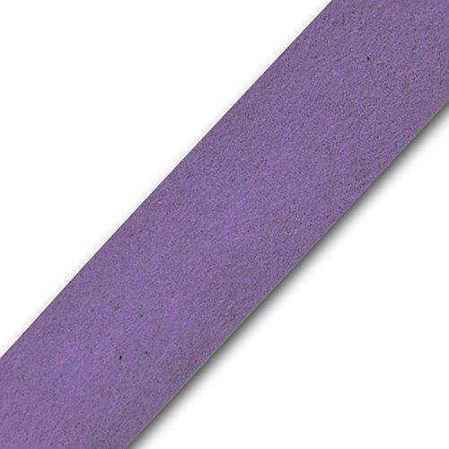 Expo International IR8034PR-10 10 Yards of Faux Suede Strip Trim Purple