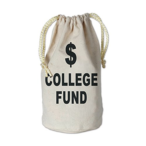 Beistle Party Decoration Accessory College Fund Money Bag Fabric W/Drawstring 8 1/2