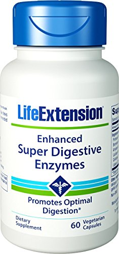 Life Extension Enhanced Super Digestive Enzyme 100 Vegetarian Capsules