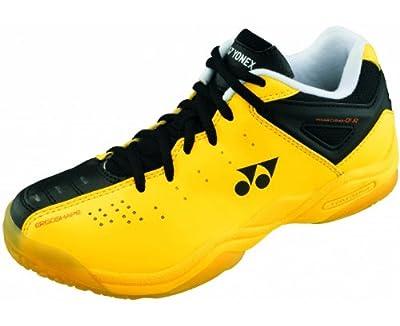YONEX SHB01JREX Junior Badminton Shoes, Yellow, US2