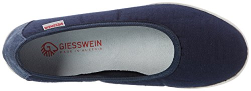 Giesswein Drees, Bailarinas para Mujer Azul (548 / Dk.blau)