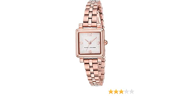 82397564cda6a Amazon.com: Marc Jacobs Women's 'Vic' Quartz Stainless Steel Casual Watch,  Color:Rose Gold-Toned (Model: MJ3530): Marc Jacobs: Watches