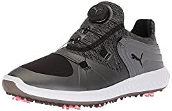 Puma Golf Women's Ignite Blaze Sport Disc Golf Shoe, Blacksteel Gray, 8 Medium Us