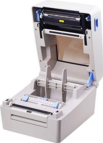 Xprinter XP-TT424B 110mm 4.3inch 203dpi Thermal and Thermal-Transfer Label Printer,Thermal and Thermal-Transfer Barcode Printer, USB 2.0 Interface by xprinter (Image #1)
