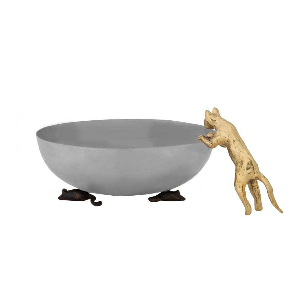 Michael Aram Cat and Mouse Serving (candy/vegetable) Dish - Bowl #130130