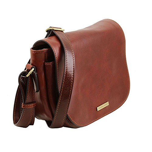 Tuscany Leather - Rachele - Sac bandoulière en cuir - Marron