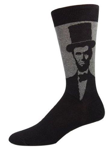 Socksmith Mens Novelty Lincoln Crew Socks