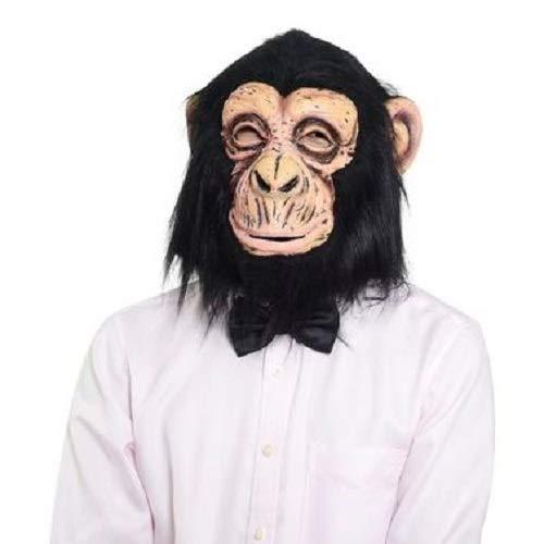 Mascara Macaco Sulamericana Fantasias Preto