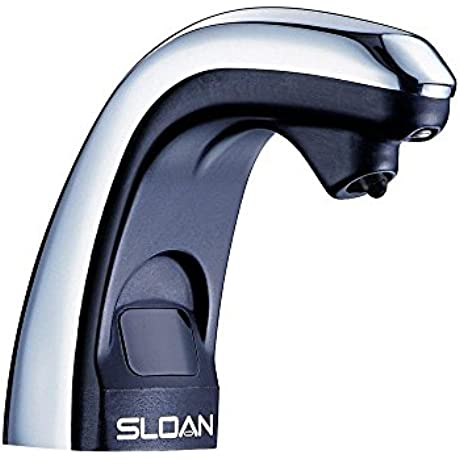 Sloan ESD 250 Sensor Operated Touchless Soap Dispenser Battery Powered Polish