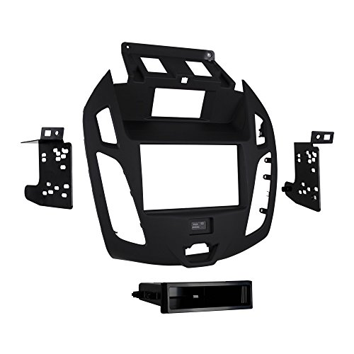 Ford Head Units - Metra 99-5831G Double/Single DIN Dash Kit for 2014 - Ford Transit Connect with OEM 4.3