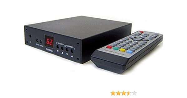 Amazon.com: Professional RF Coax to Composite Video Stereo Demodulator TV Tuner (NTSC Version): Home Audio & Theater