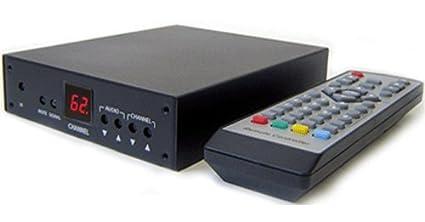 Professional RF Coax To Composite Video Stereo Demodulator TV Tuner NTSC Version