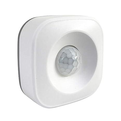 Youlala Sensor Inteligente de Movimiento Compatible Alexa y Google Home, Detector de Alarma por Sensor