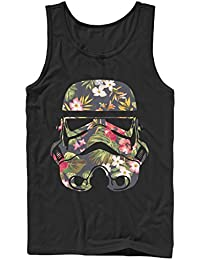 Star Wars Tropical Stormtrooper Mens Graphic Tank Top