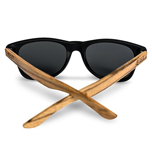 33056de28f ... Bamboo Sunglasses - 100% Polarized Wood Shades for Men   Women from the  50