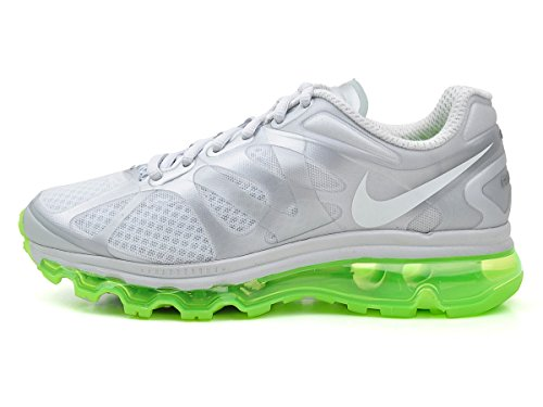 Nike WMNS Air Max+ 2012 Metallic Platinum Green