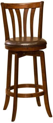 - Hillsdale Savana Swivel Counter Stool, Cherry