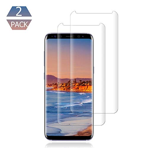 Price comparison product image [2 Pack] Galaxy S9 Plus Screen Protector 9H Hardness / Anti-Scratch / Anti-fingerprint / 3D Curved / High Definition / Ultra Clear Tempered BBInfinite Glass Screen Protector Compatible Samsung Galaxy S9 Plus