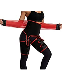 Body 3-in-1 Waist and Thigh Trimmer for Women Weight Loss Butt Lifter Waist Trainer Hip Raise Shapewear Thigh Trimmers