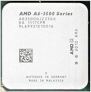 Amazon Com Amd A Series Apu Cpu Gpu A6 3500 A6 3500 Triple Core 2 1 Ghz Ad3500ojz33gx Cpu Processor Socket Fm1 905 Pin Computers Accessories