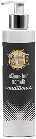 Hair Regrowth Conditioner- Maximum Strength DHT Blocker. Repairs & Stimulates New Follicle Hair Growth. Grow Stronger, Thicker, Fuller, Longer, Healthier Hair. For Men & Women with No Side Effects.
