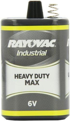 Rayovac 6-Volt Industrial Heavy-Duty Maximum Lantern Battery with Spring Terminals, 6V-HDM by Rayovac