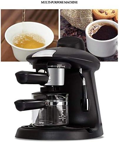Qinmo Machine à café glacé, Pompe Machine à Expresso, Haute densité Filtration Goutte à Goutte à café, Fantaisie Machine à café for la Maison