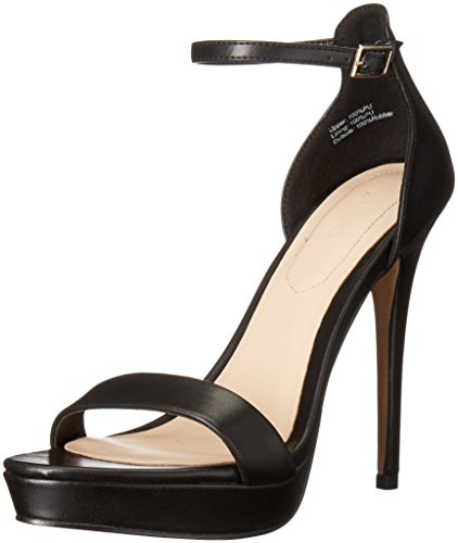 Aldo Women's Madalene Platform Dress Sandal, Black Synthetic, 9 B US