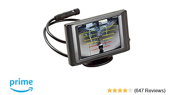 Amazon hopkins 50002 smart hitch backup camera system automotive freerunsca Image collections