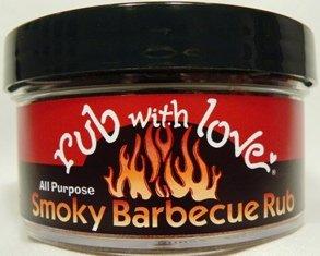 Tom Douglas Rub - Rub With Love, Rub Smoky BBQ, 3.5 Ounce