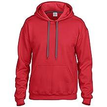 Gildan Mens Premium Cotton Hoodie Sweatshirt