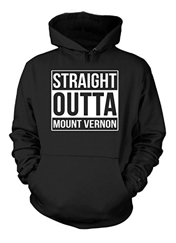 Vernon Mount Present - Straight Outta Mount Vernon City. Cool Gift - Hoodie Black Adult 3XL