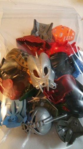 Alexander James 'MOC Fodder' Bulk 20 Random Vintage Lego Bionicle Masks ()