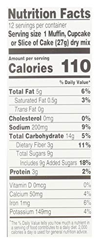 Simple Mills Almond Flour Baking Mix, Gluten Free Chocolate Cake Mix, Muffin pan ready, Made with whole foods, (Packaging May Vary), 11.2 Ounce (Pack of 1) 4
