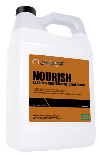Nanoskin (NA-NOU128) Nourish Leather and Vinyl Cleaner/Conditioner - 1 Gallon