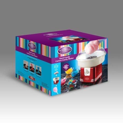 Nostalgia PCM405RETRORED Retro Series Hard & Sugar Free Candy Cotton Candy Maker ;JM#54574-4565467/341176770 by Nostalgia (Image #2)