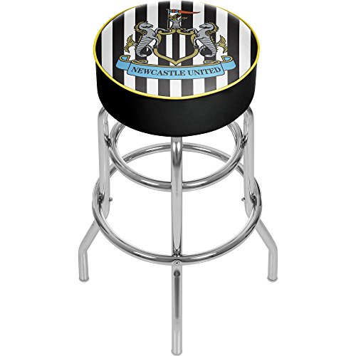 fan products of Premier League Newcastle United Chrome Bar Stool with Swivel