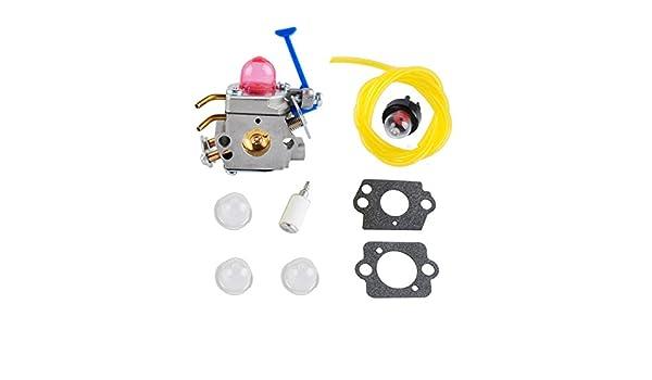 Wadoy 128 CD 128LD carburador Carb Kit con filtro de ...