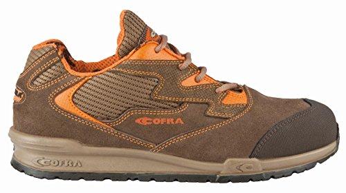 Cofra 78630-000.W43 Gaudini S1 P Chaussures de sécurité SRC Taille 43 Marron