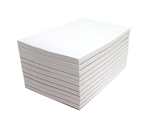 Three 50 Sheet Pads (Memo Pads - Note Pads - Scratch Pads - Writing pads - 10 Pads with 50 sheets in Each Pad (3 x 5 Inches))