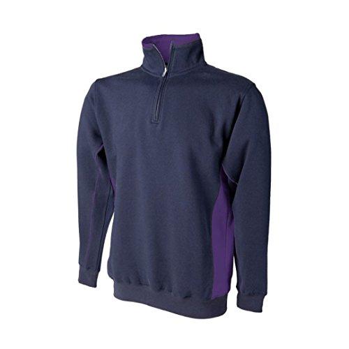 Finden & Hales - Sudadera - para mujer Navy/ Purple