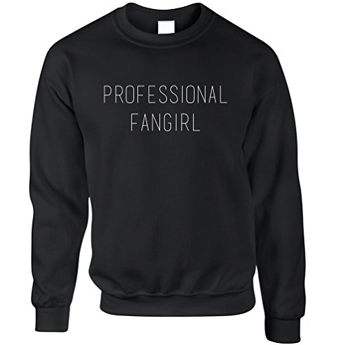 Tim And Ted Professional Fangirl Fan Celeb Celebrities Funny Slogan Cool TV - Fashion Celeb Mens