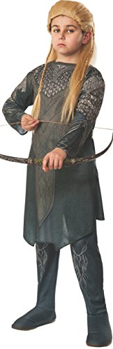 The Hobbit: Desolation of Smaug, Child Legolas Costume, Small - Small One Color