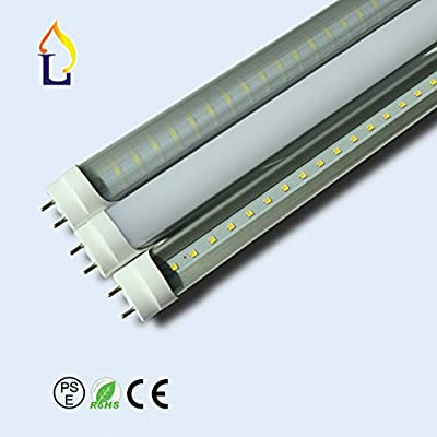 (6 PACK) Emergency T8 LED Tube Light With Battery 4ft 18W, G13 Works without a Ballast or starter! White Fluorescent Replacement Light School Super Market Public Lamp