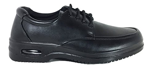 Mens Oliebestendig Antislip Restaurant Werkschoenen Met Air Lace Up
