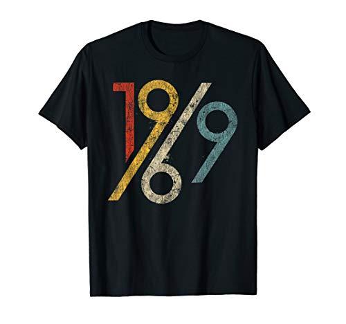 Retro 50th Birthday Shirt 1969 Graphic T-Shirt - Birthday 50th Shirts Tee