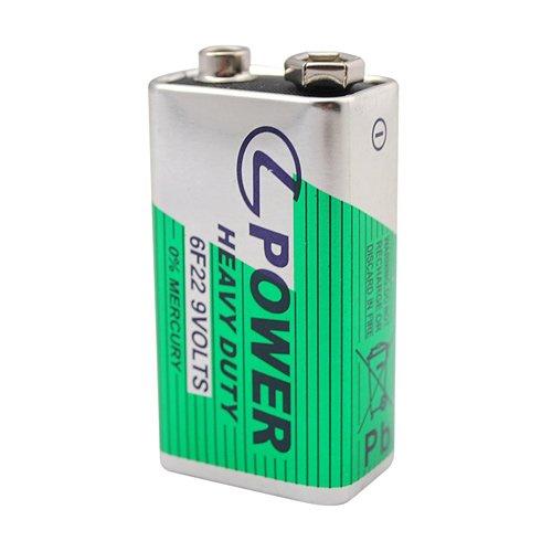 6F22 9V Heavy Duty Battery ()