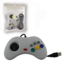 Childhood PC USB Controller Gamepad Joypad for Sega Saturn Style PC MAC